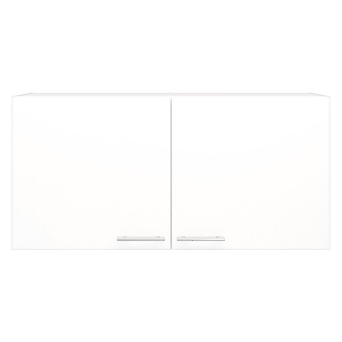 Doppel Hängeschrank Basic – Weiß, Kiveda günstig online kaufen