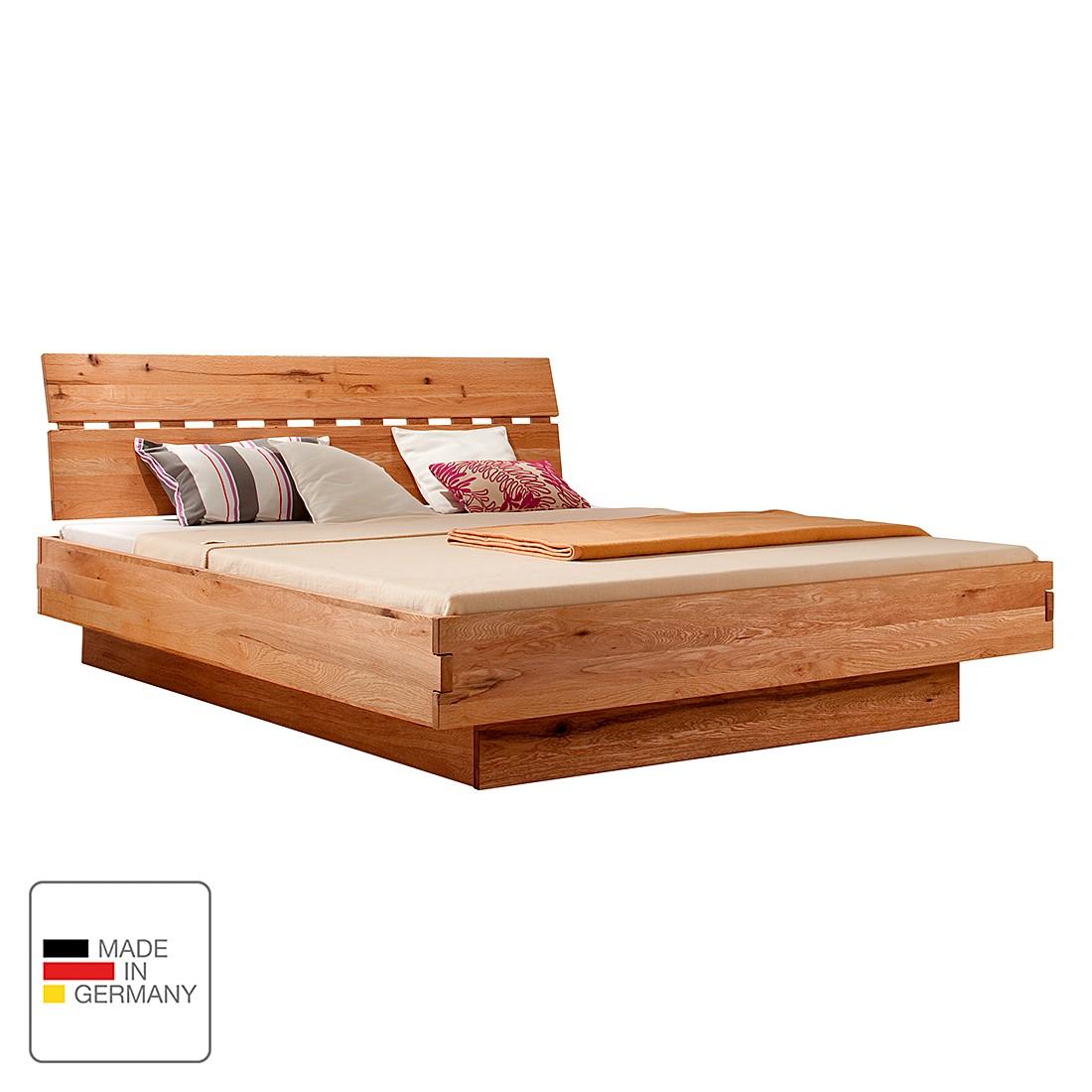 doppelbett max wildeiche massiv ge lt liegefl che 180 x 200 cm ms schuon g nstig online. Black Bedroom Furniture Sets. Home Design Ideas