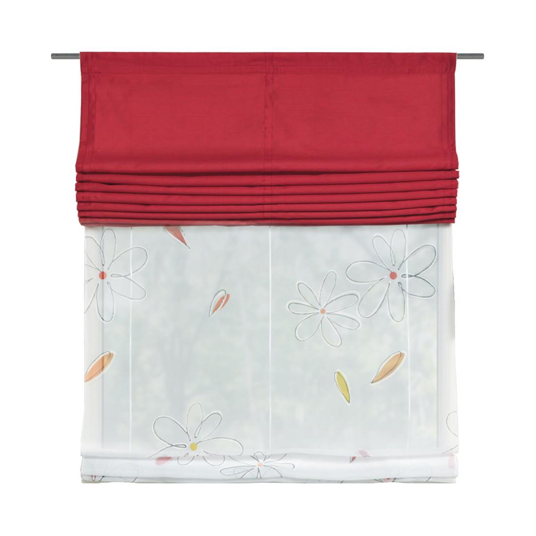 Doppelrollo Olli – Rot – 45 x 140 cm, Home Wohnideen online bestellen