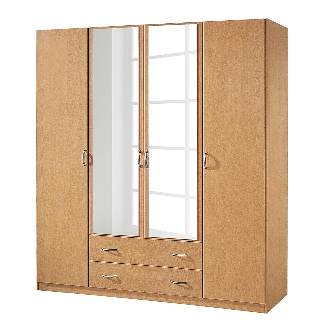 dreht renschrank case iii buche dekor schrankbreite 136 cm 3 t rig rauch pack s kaufen. Black Bedroom Furniture Sets. Home Design Ideas