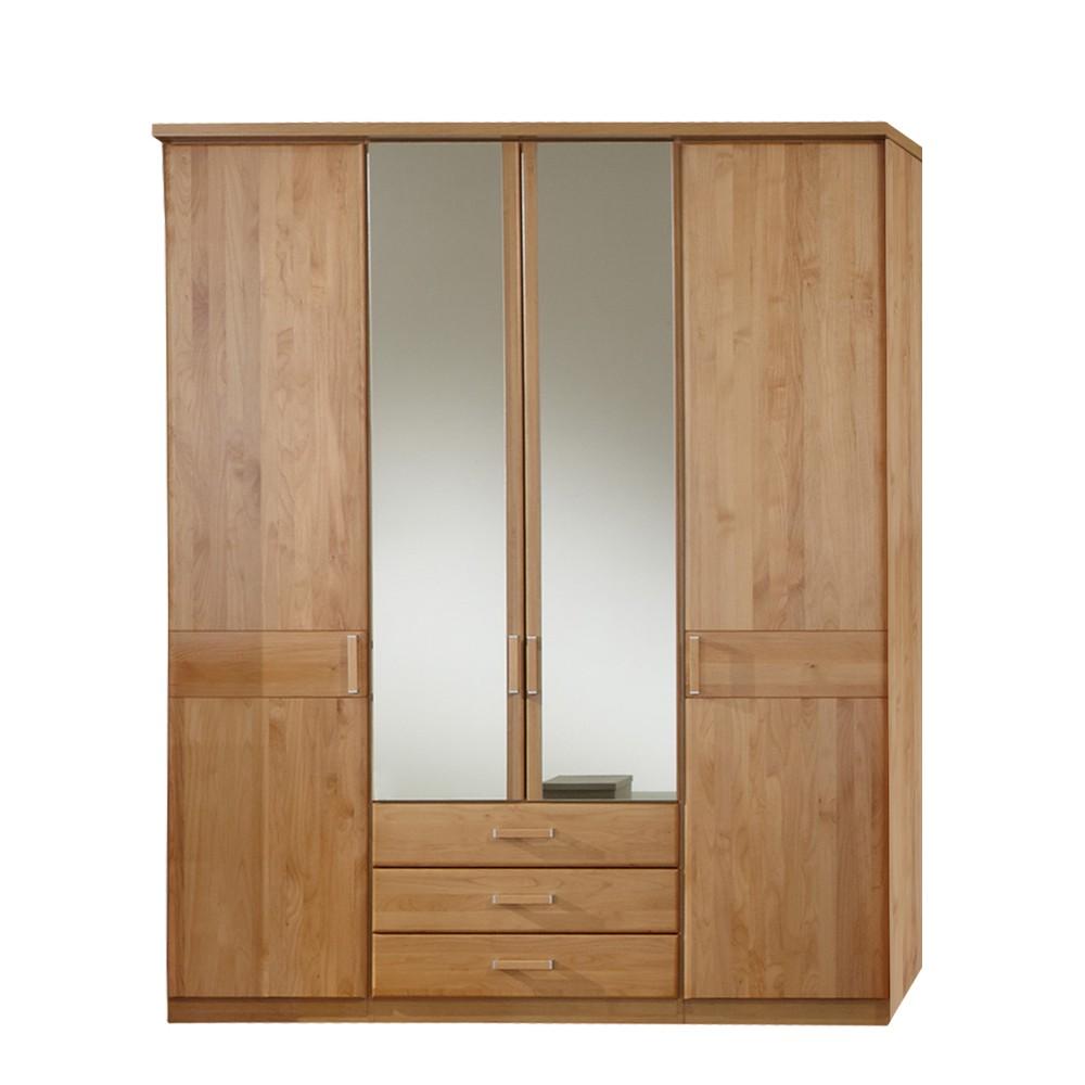 dreht renschrank sempre erle teilmassiv mit spiegel. Black Bedroom Furniture Sets. Home Design Ideas