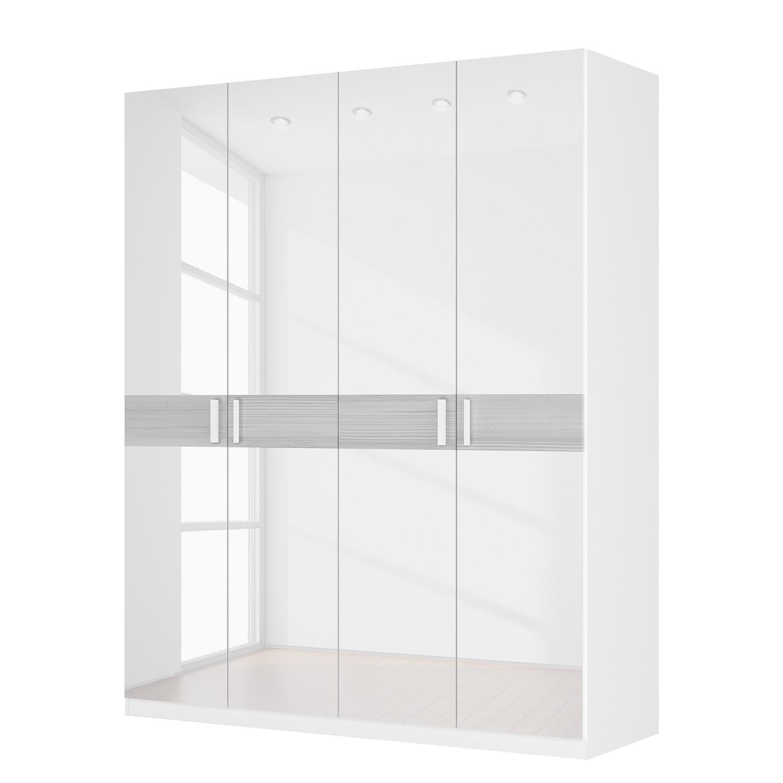 dreht renschrank sk p ii hochglanz wei strukturholz wei 181 cm 4 t rig 222 cm. Black Bedroom Furniture Sets. Home Design Ideas