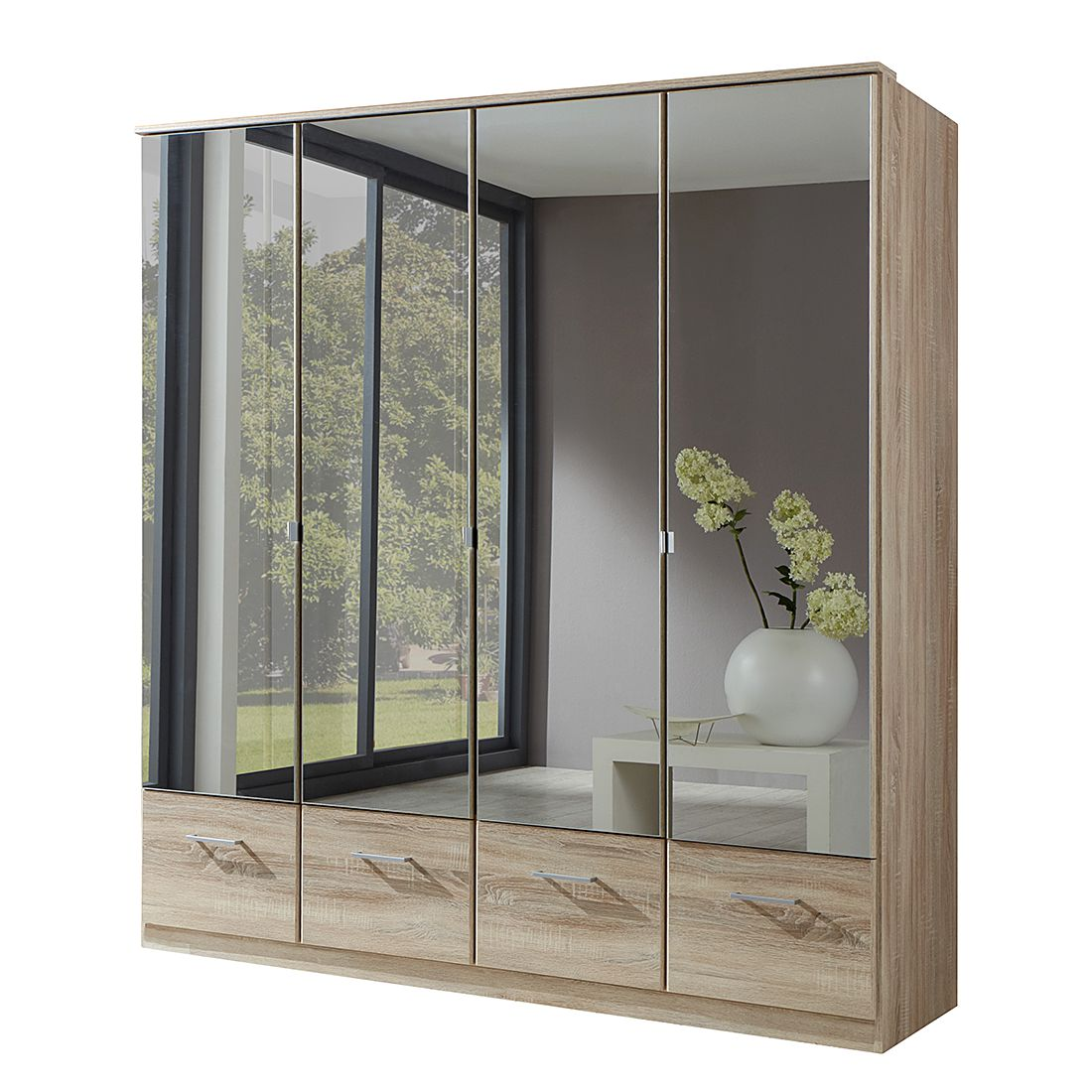 dreht renschrank vanity mit schubladen eiche s gerau. Black Bedroom Furniture Sets. Home Design Ideas