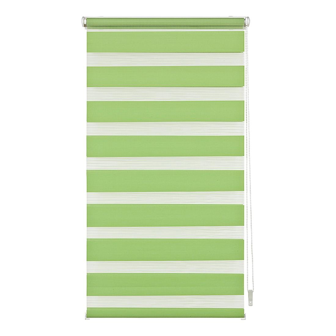 Duo-Rollo Klemmfix – Polyester, Metall, Grün – (H x B): 150 x 100 cm, Wohn-Guide günstig bestellen