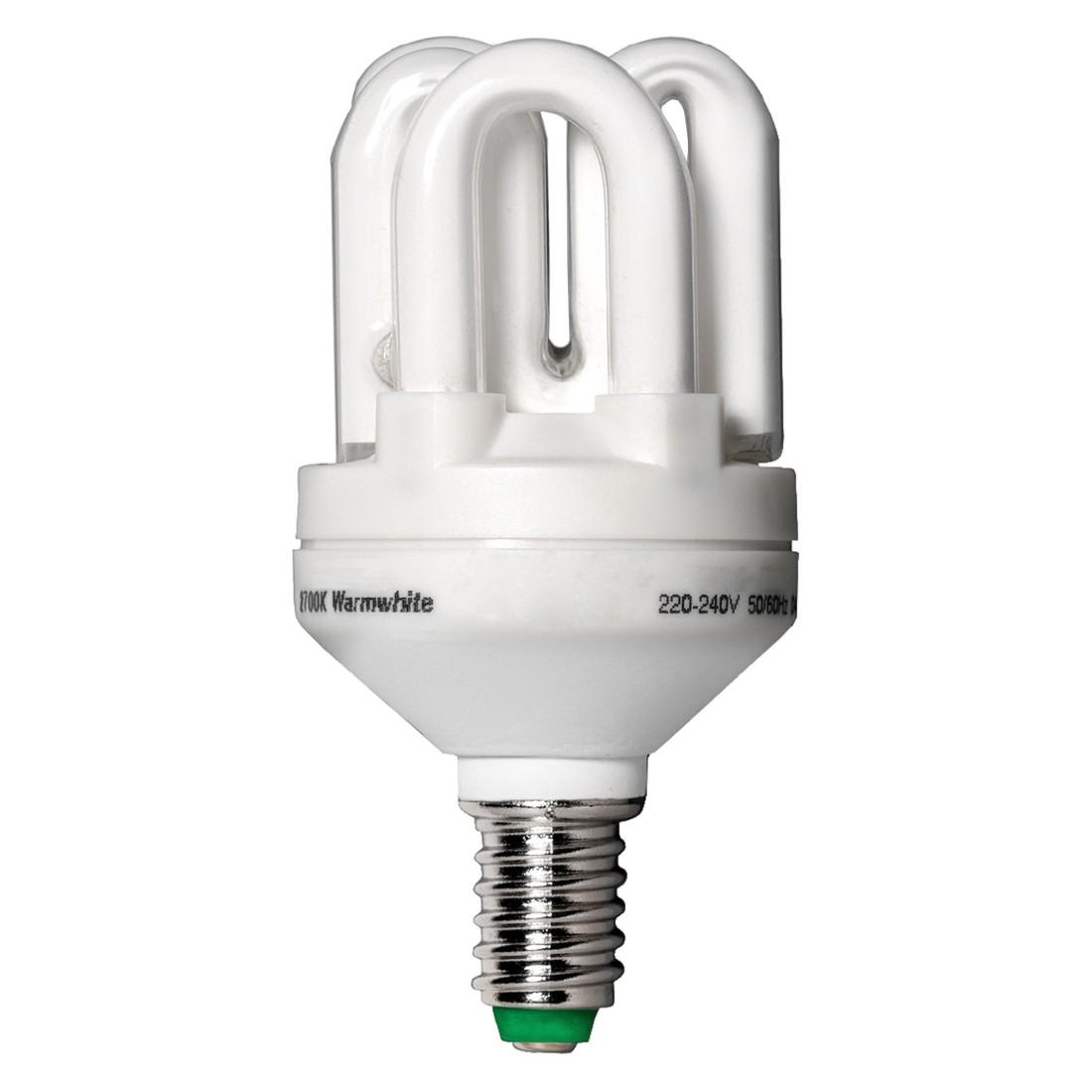 Energiesparlampe E14 15 W Spirale ● Glas Weiß- Marset Iluminación