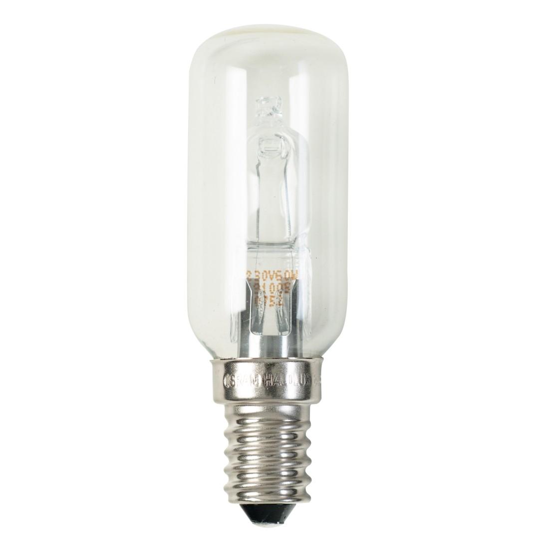 Halogen-Retrofitlampe E14 60 W Kolben klar ● Klarglas Klar- Mega Licht