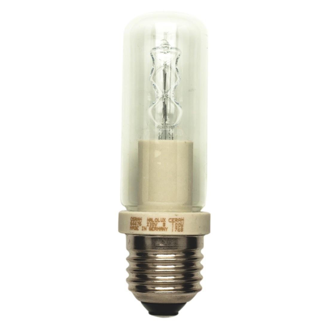 Halogen-Retrofitlampe E27 100 W Kolben klar ● Klarglas Transparent- Mega Licht