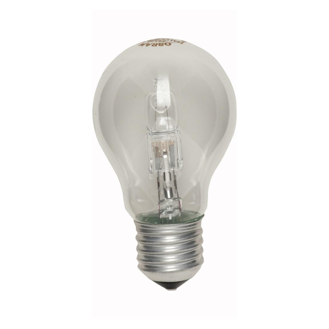 Halogen-Retrofitlampe E27 28 W Standard klar ● Klarglas Klar- Mega Licht