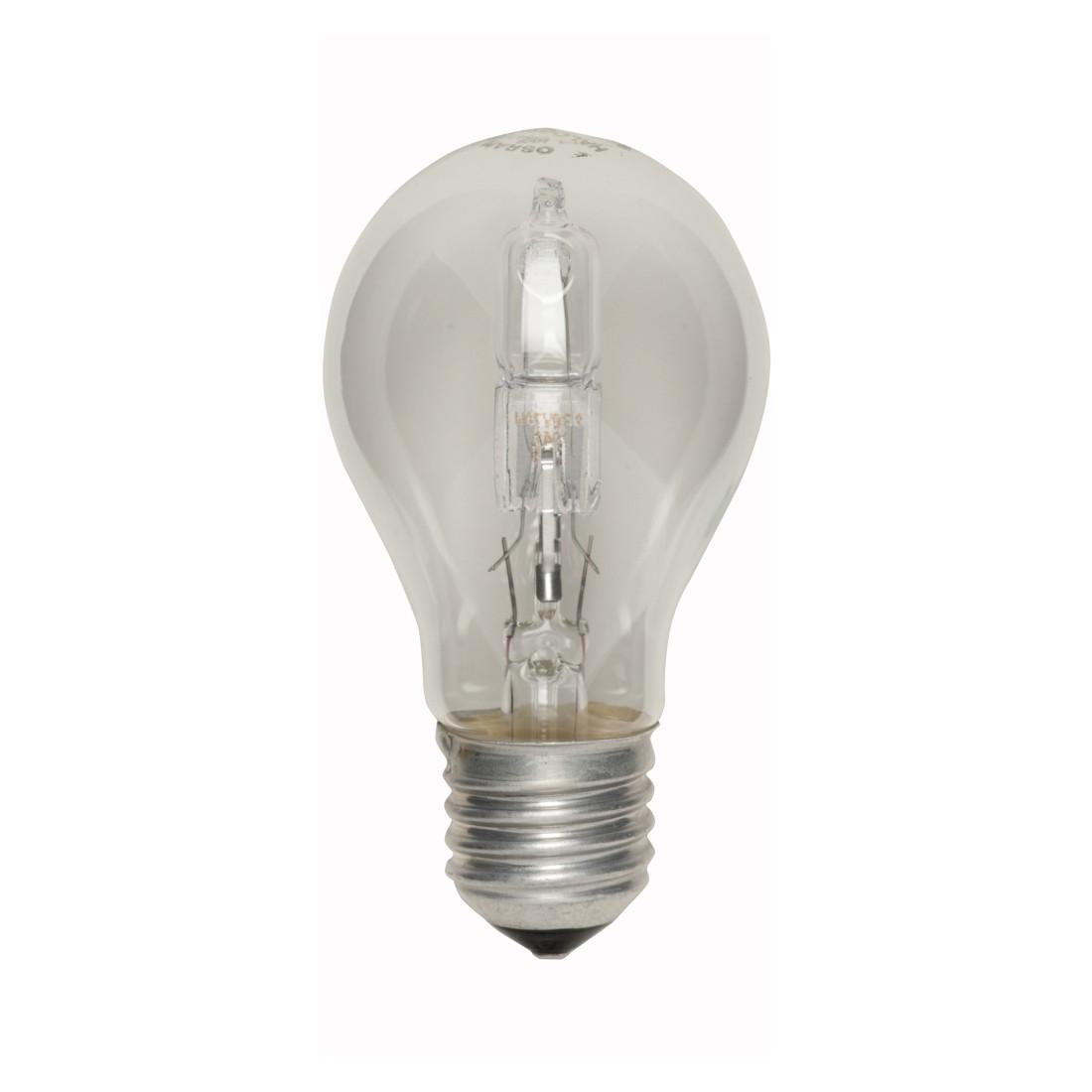 Halogen-Retrofitlampe E27 70 W Standard klar ● Klarglas Klar- Mega Licht