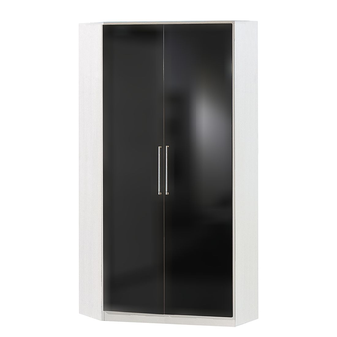 eckschrank claudine perlglanz black alpinwei. Black Bedroom Furniture Sets. Home Design Ideas
