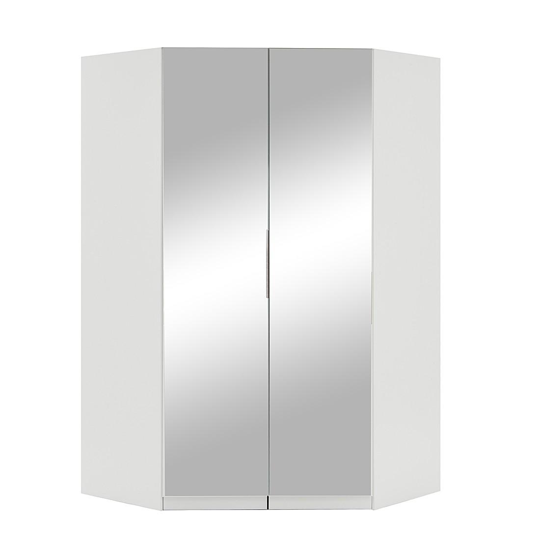 Eckkleiderschrank mit spiegel  Eckschrank Add on C (mit Spiegel) - Alpinweiß (mit Spiegel ...