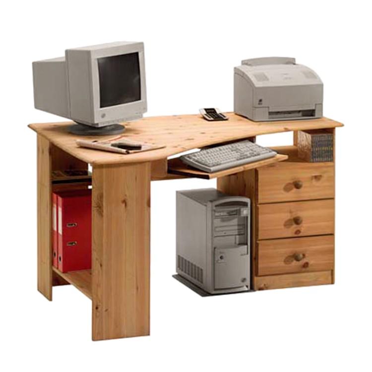 steens eckschreibtisch berra ii kiefer massiv gelaugt schreibtisch b rotisch ebay. Black Bedroom Furniture Sets. Home Design Ideas