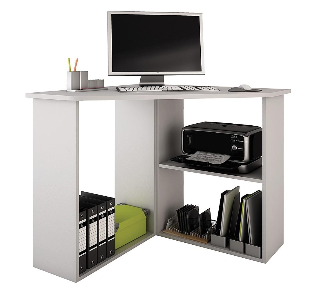 eckschreibtisch rennes wei. Black Bedroom Furniture Sets. Home Design Ideas