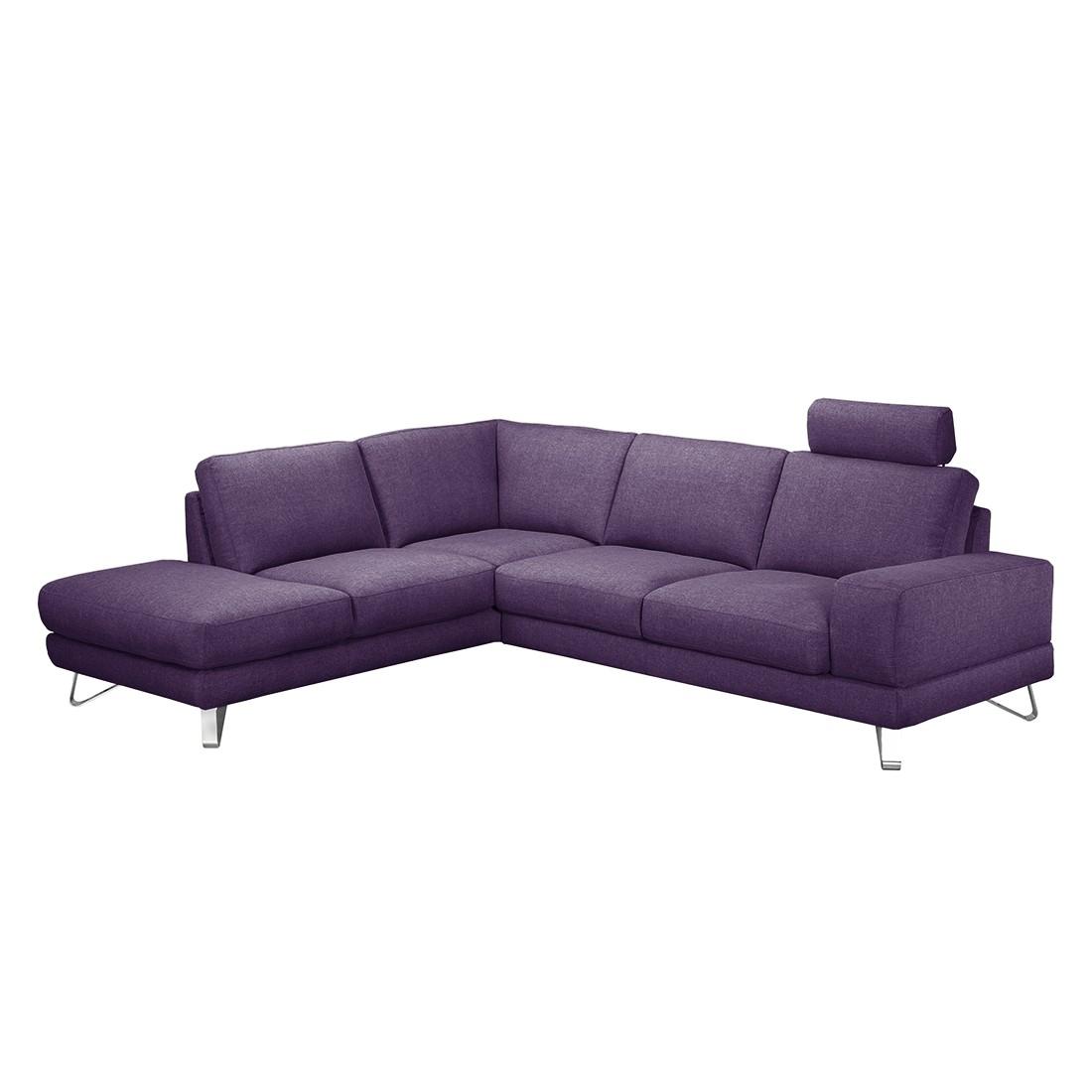 ecksofa mit schlaffunktion lila. Black Bedroom Furniture Sets. Home Design Ideas