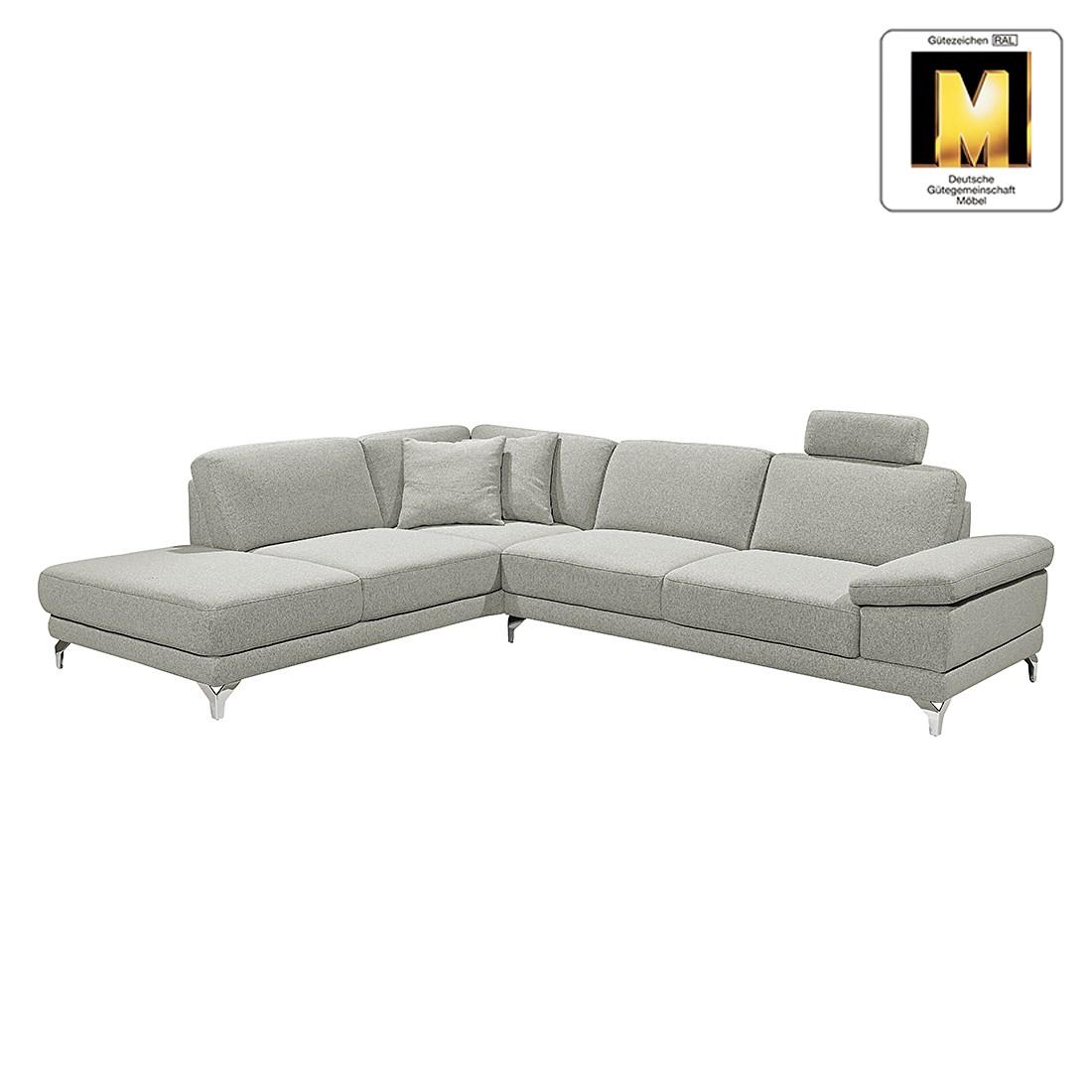 ecksofa casual line strukturstoff longchair ottomane davorstehend links verstellbare. Black Bedroom Furniture Sets. Home Design Ideas