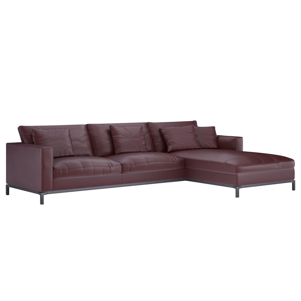ecksofa fenice 3 sitzer mit gro er recami re. Black Bedroom Furniture Sets. Home Design Ideas