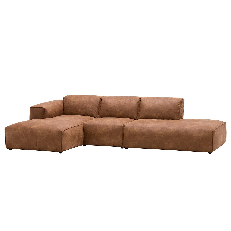 leder ecksofa g nstig kaufen. Black Bedroom Furniture Sets. Home Design Ideas
