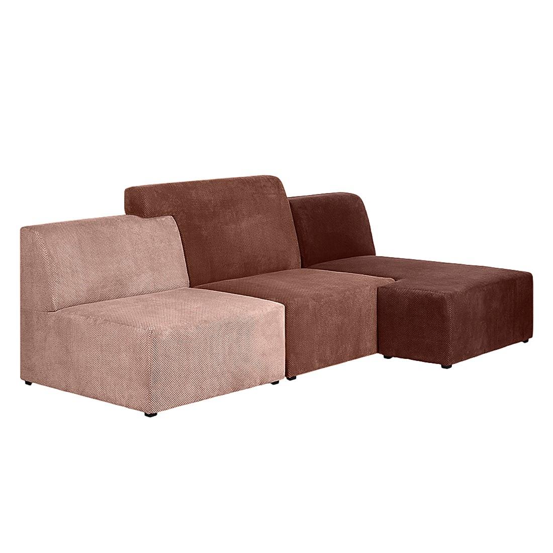 ecksofa sweet stoff rot ottomane links und rechts montierbar fredriks jetzt kaufen. Black Bedroom Furniture Sets. Home Design Ideas