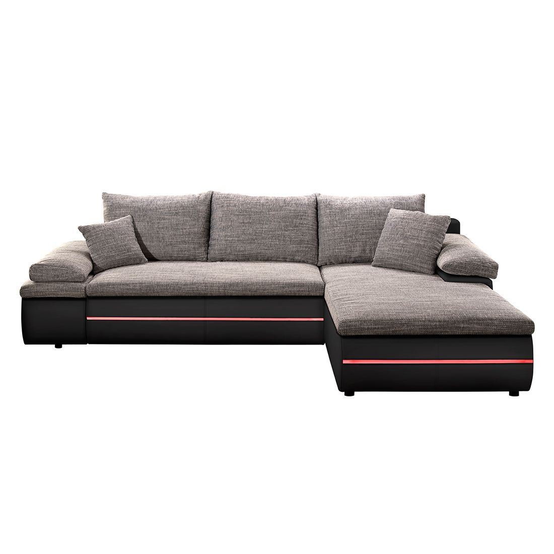 ecksofa leder mit schlaffunktion ecksofa polsterecke echt leder dickleder schwarz mit. Black Bedroom Furniture Sets. Home Design Ideas