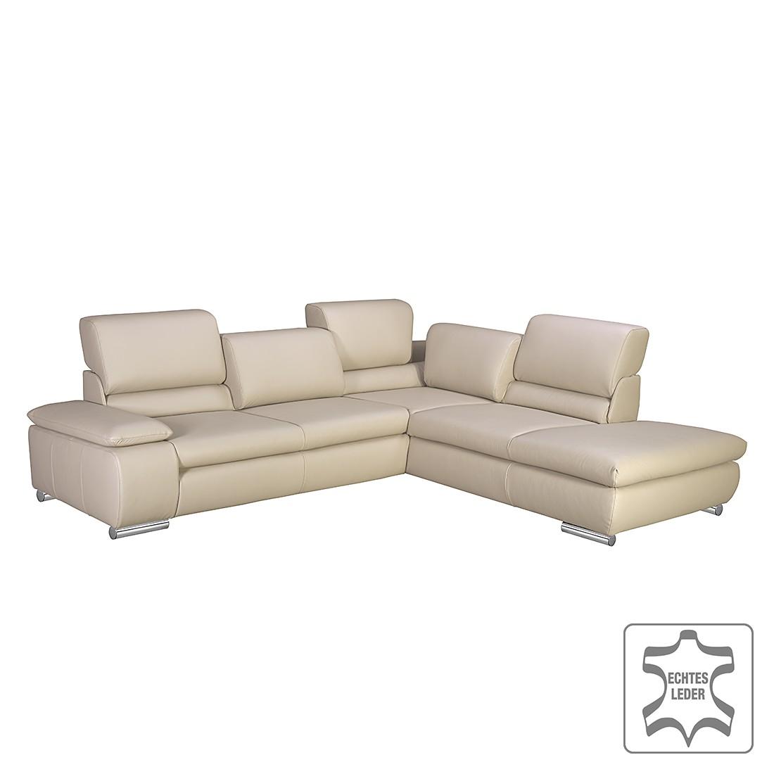 eckbankgruppe penaflor ii echtleder beige freiform. Black Bedroom Furniture Sets. Home Design Ideas