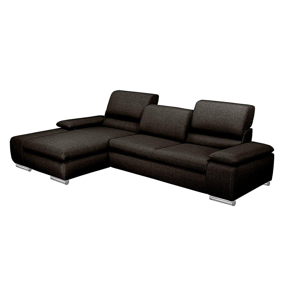 ecksofa theresa webstoff grau longchair davorstehend links ohne schlaffunktion nuovoform. Black Bedroom Furniture Sets. Home Design Ideas