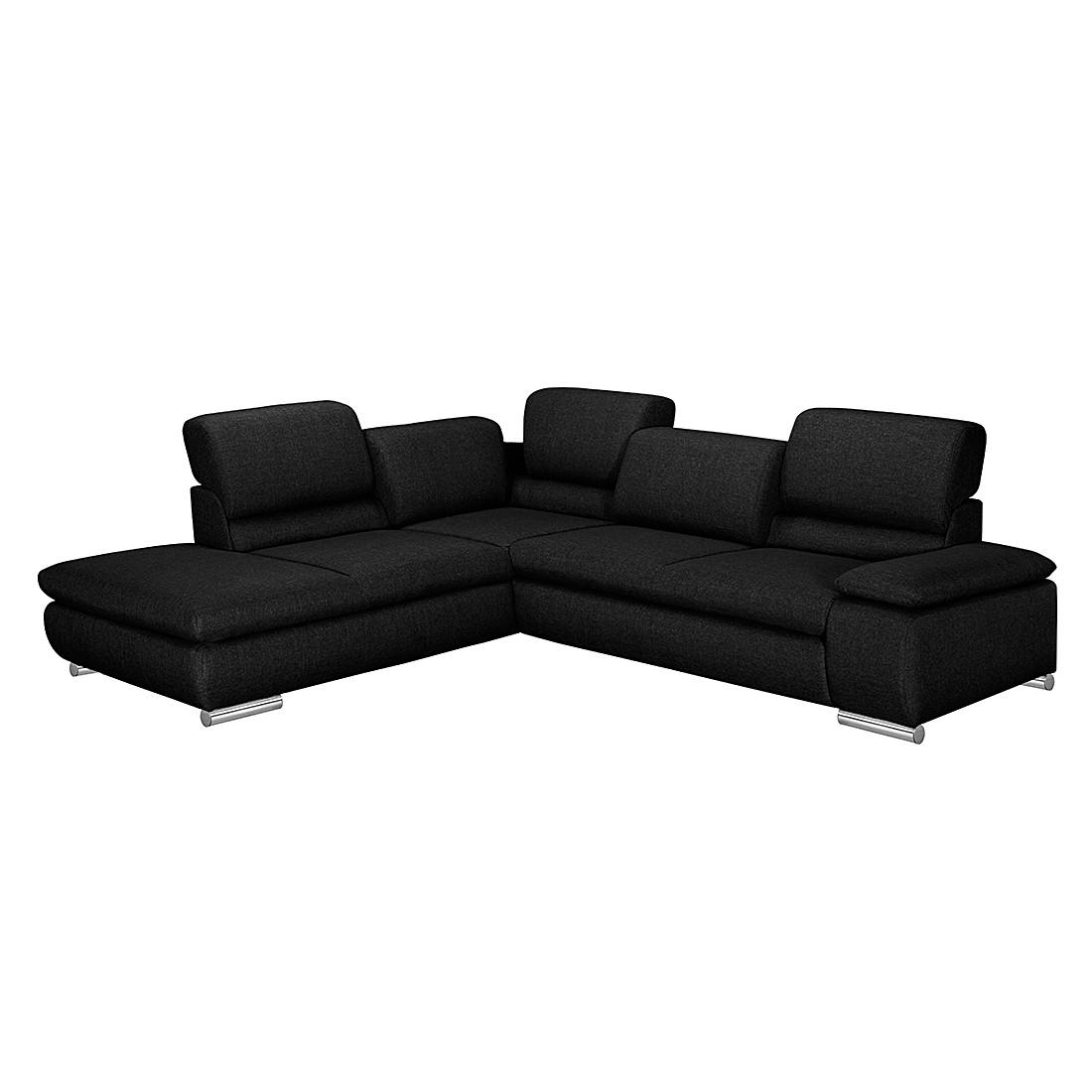 ecksofa masca strukturstoff beige ottomane davorstehend links mit schlaffunktion. Black Bedroom Furniture Sets. Home Design Ideas