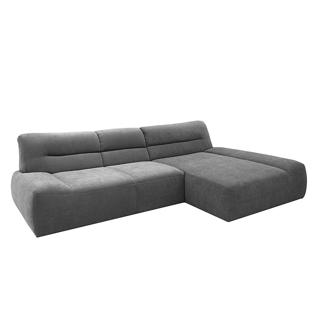ecksofa oklahoma webstoff hellgrau longchair. Black Bedroom Furniture Sets. Home Design Ideas