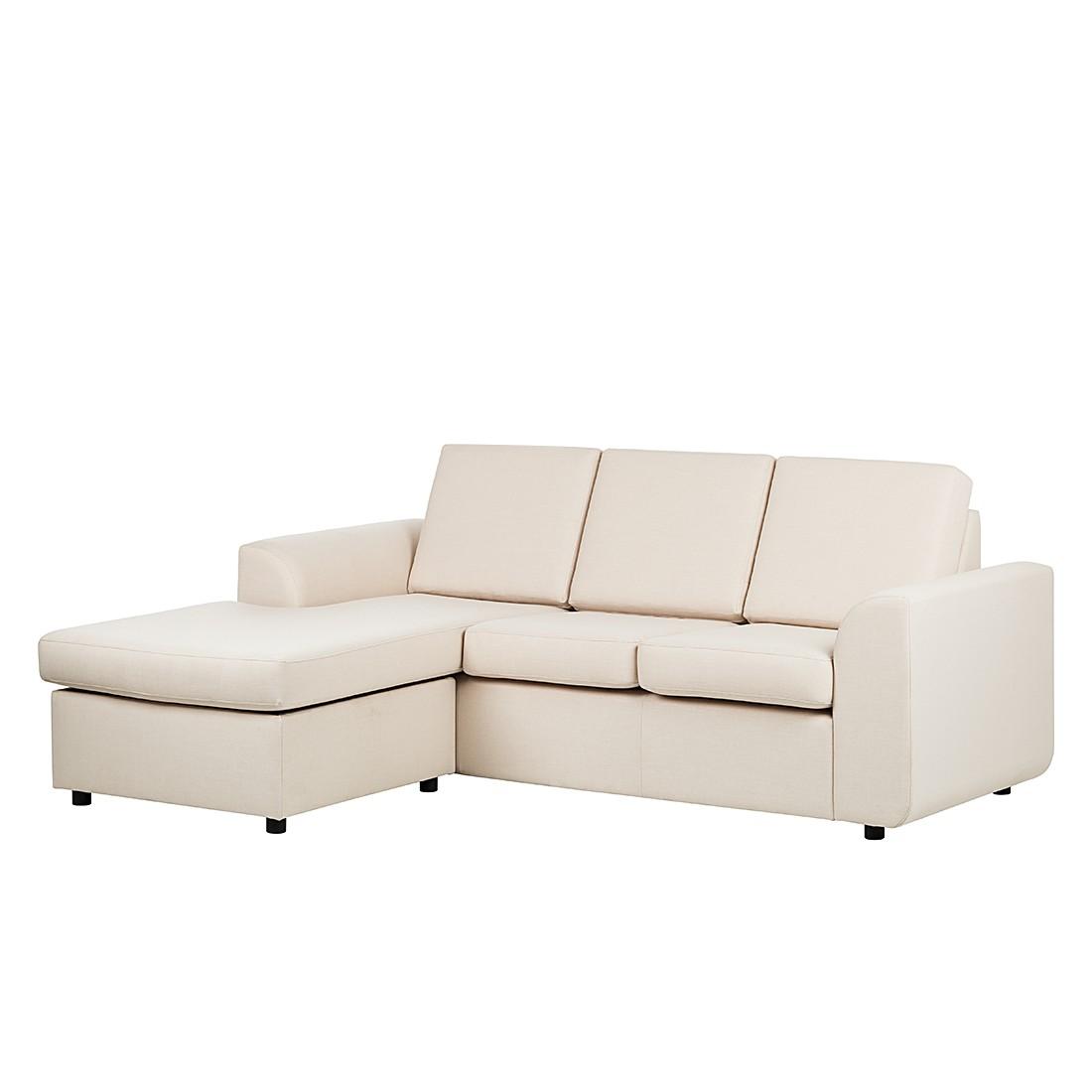 ecksofa sweet stoff beige ottomane links oder rechts. Black Bedroom Furniture Sets. Home Design Ideas