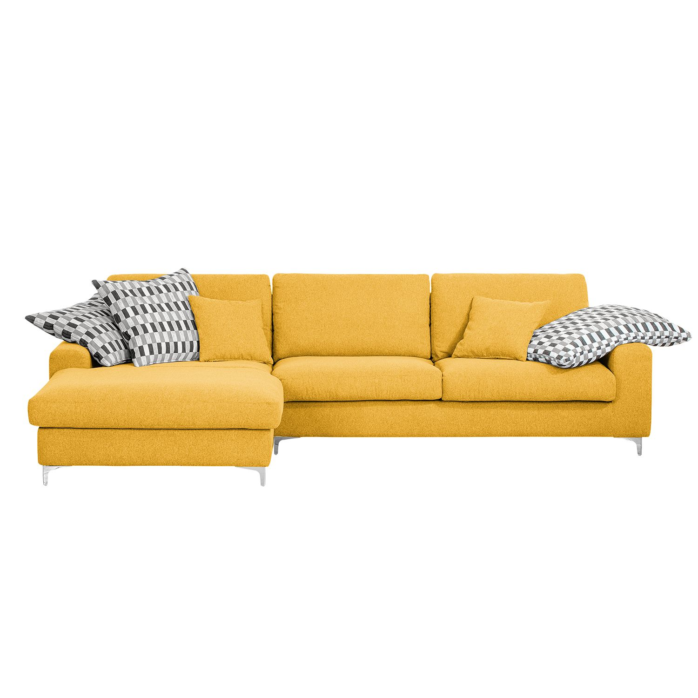 ecksofa vitinia webstoff longchair ottomane. Black Bedroom Furniture Sets. Home Design Ideas