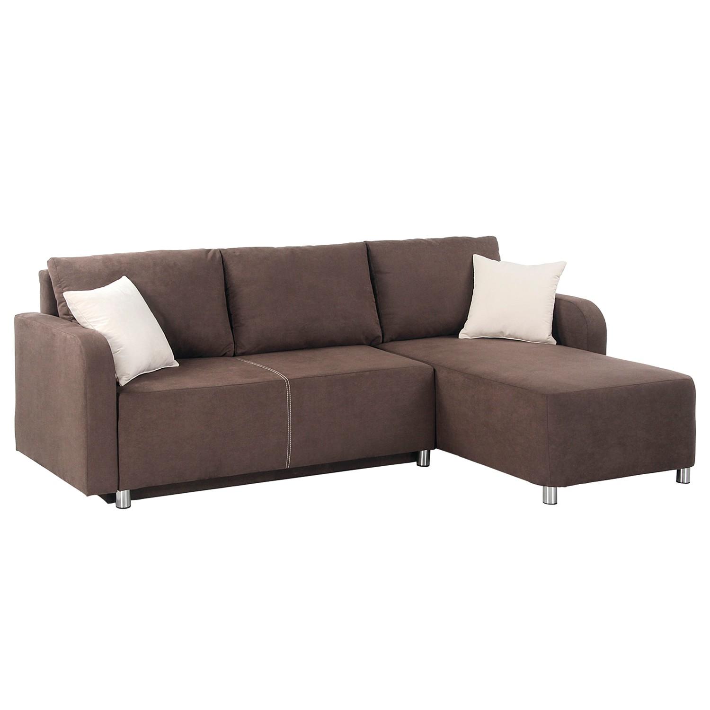 ecksofa braun microfaser sofa microfaser couch ecksofa megaecke touchdown anthrazit braun. Black Bedroom Furniture Sets. Home Design Ideas