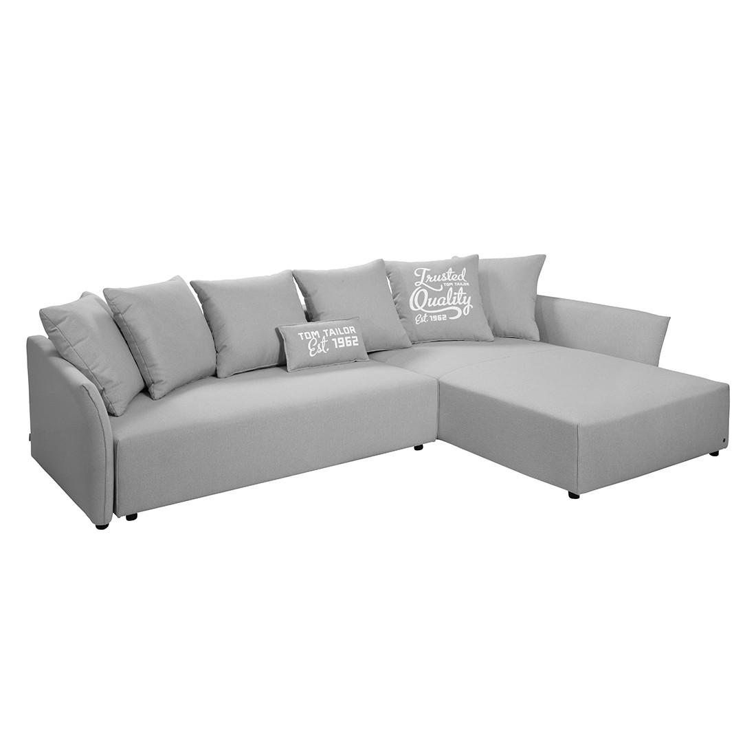 ecksofa wings casual mit schlaffunktion strukturstoff longchair ottomane davorstehend. Black Bedroom Furniture Sets. Home Design Ideas