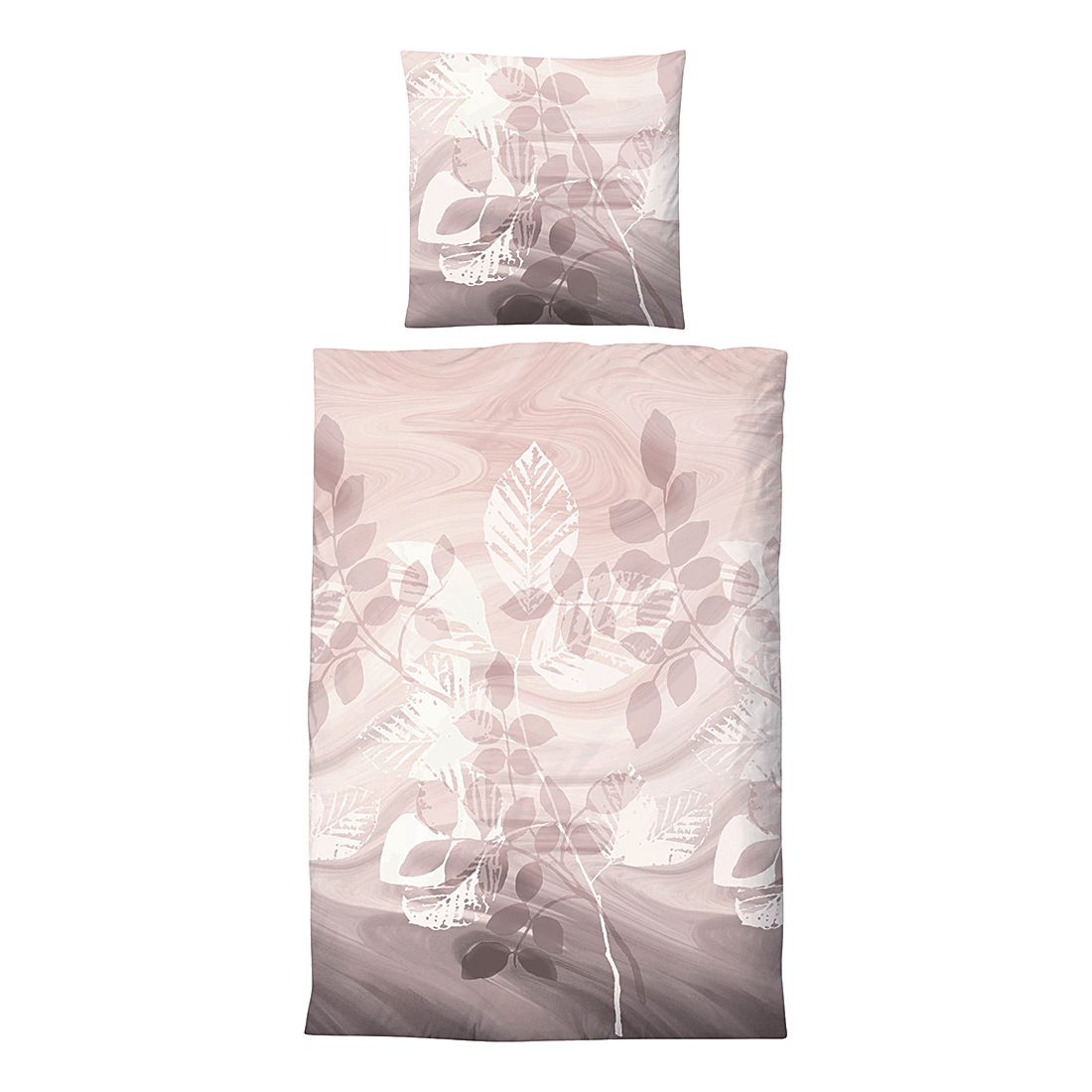 edelflanell bettw sche corinna beige 135 x 200 cm kissen 80 x 80 cm biberna online bestellen. Black Bedroom Furniture Sets. Home Design Ideas