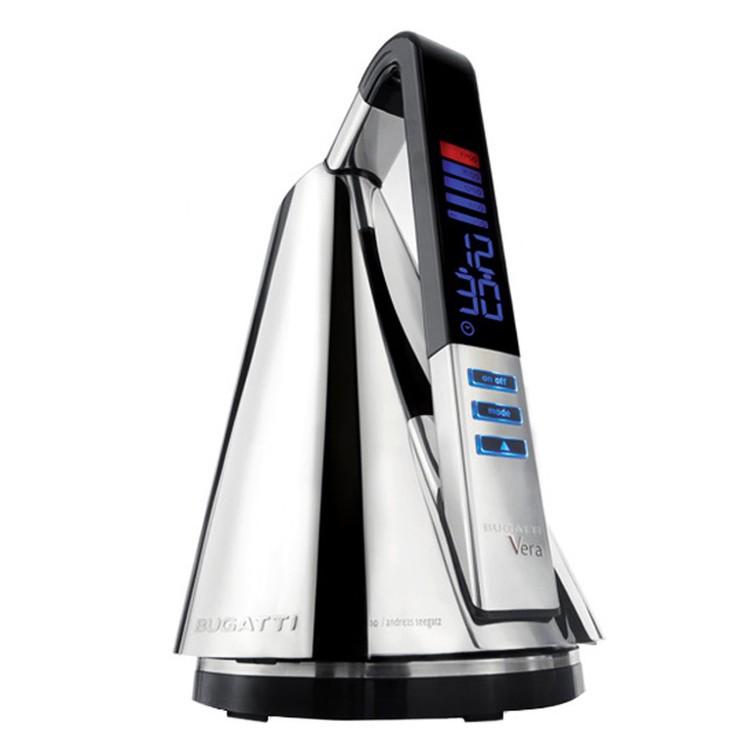 Edelstahl Wasserkocher Vera – Körper: Edelstahl 18/10 Chrom (glänzend), Bugatti online kaufen