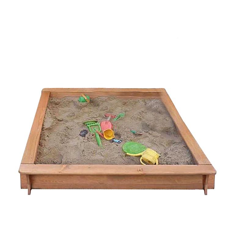 Sandkasten Edmonds – Kiefer massiv – Breite: 100 cm, Promex jetzt kaufen