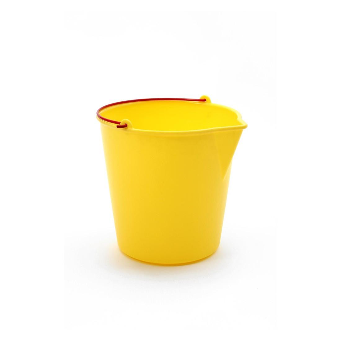 Eimer Textur – Kunststoff – Gelb, Xala günstig bestellen