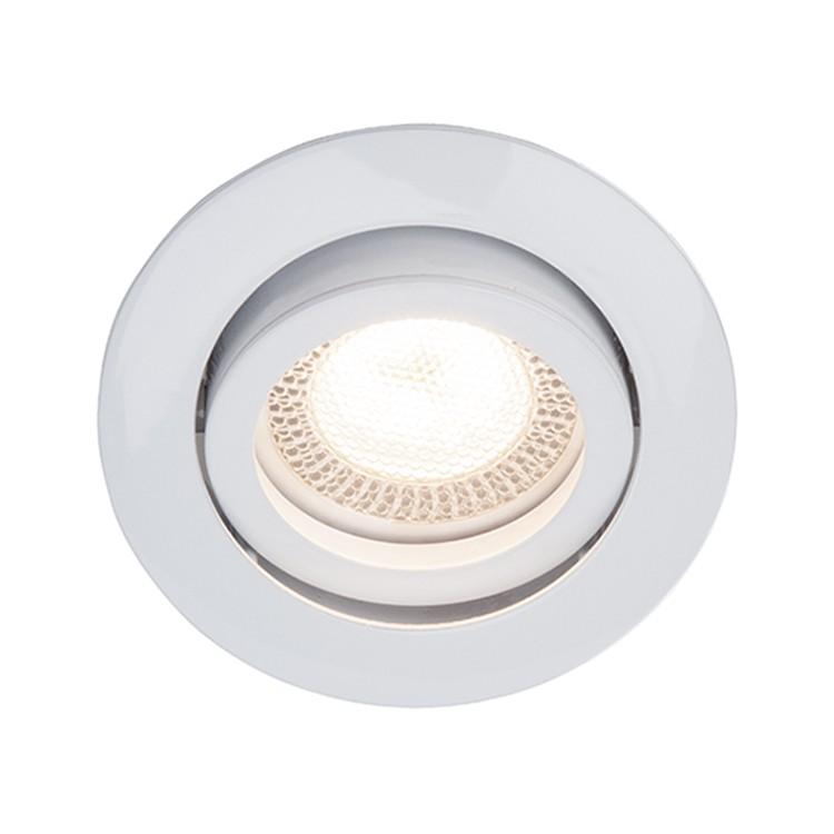 Einbauleuchte Easy Clip ● Metall ● Weiß ● 3-flammig- Brilliant A++