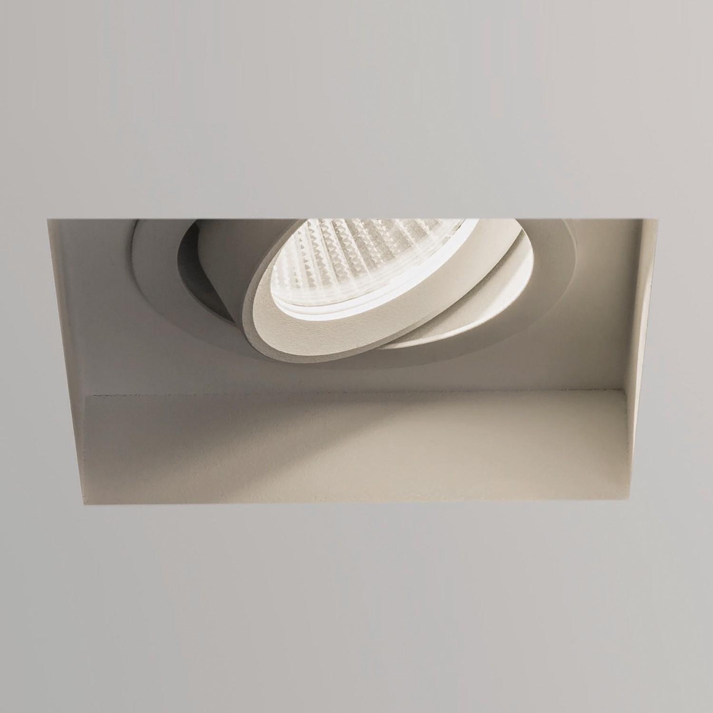Einbauleuchte Trimless 1-flammig ● Weiß Aluminium- Illumina A+