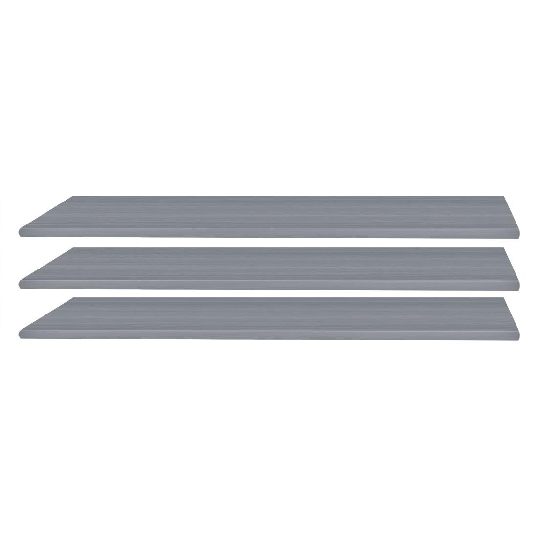Einlegeboden (3er-Set) – Line-grey – 87 cm, Wimex günstig
