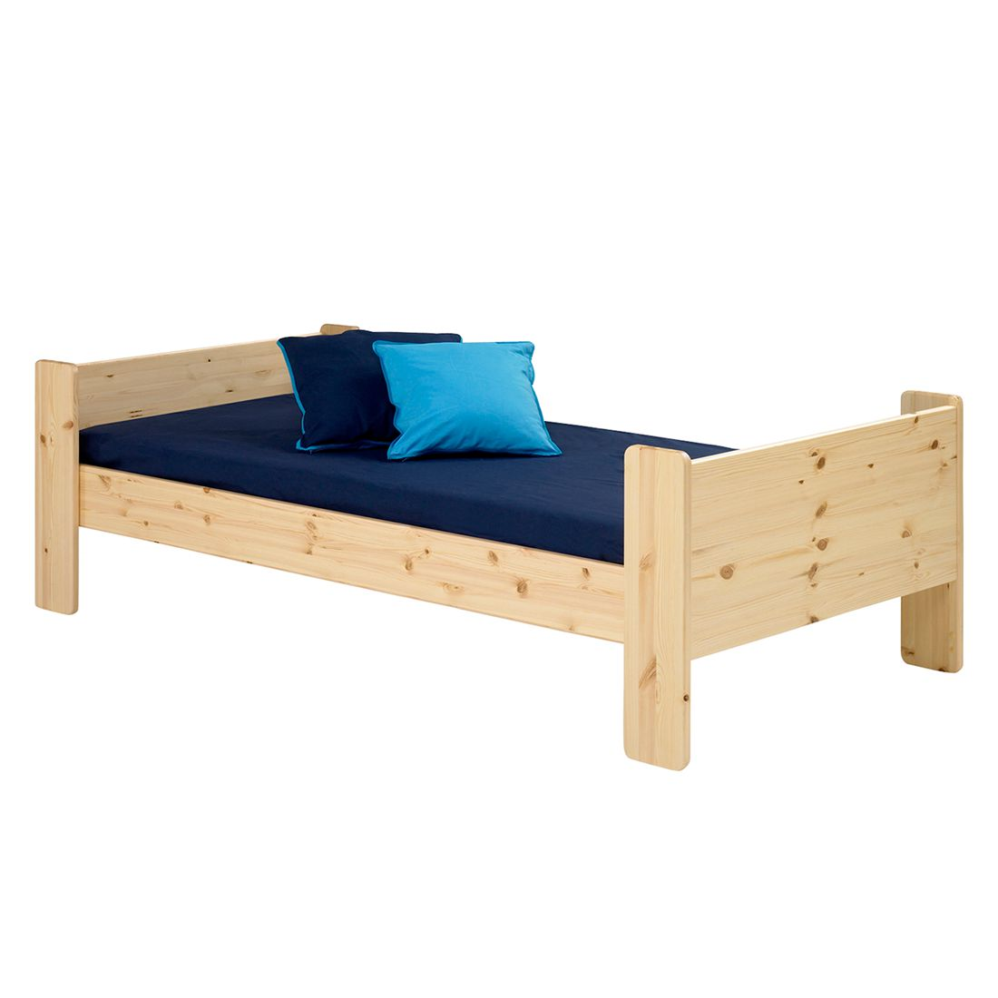 Einzelbett Steens for Kids - Kiefer massiv - Natur, Steens