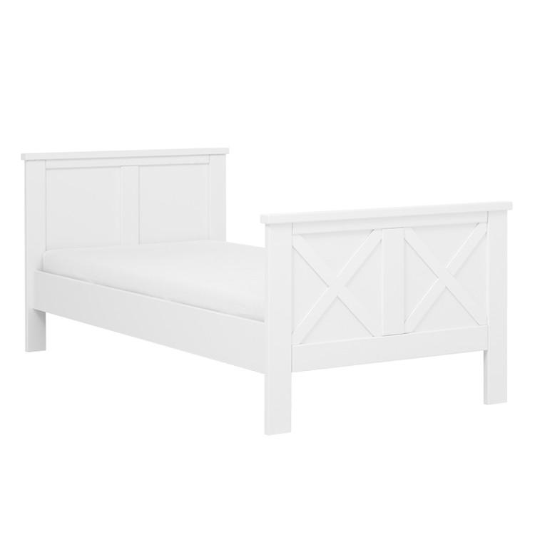 Einzelbett The Dream Collection IV – Weiß – Ohne Bett-Extraseiten, Lifetime Kidsrooms jetzt kaufen