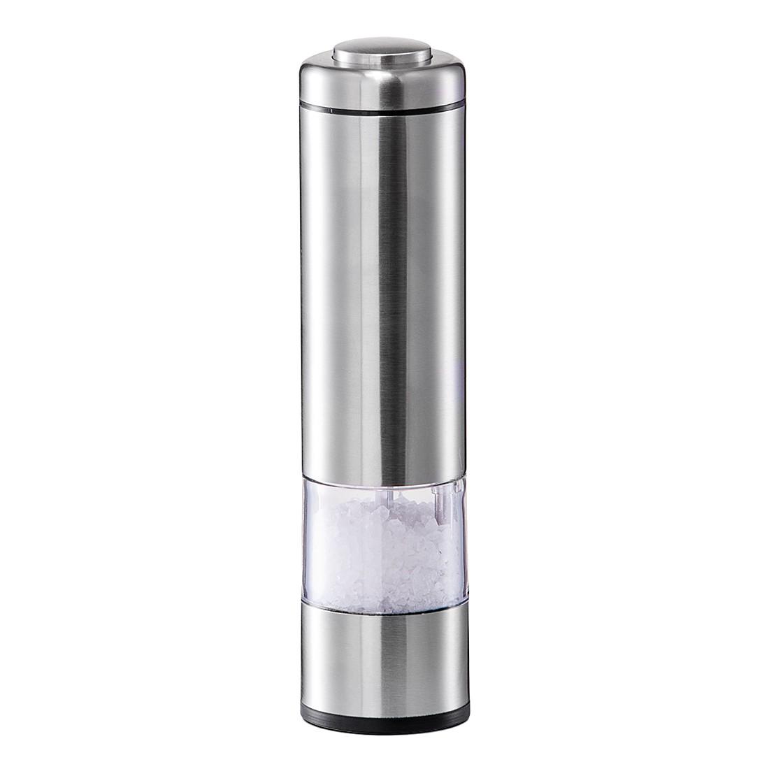 Elektische Salz-/Pfeffermühle – Edelstahl, mit Licht, Zeller jetzt kaufen