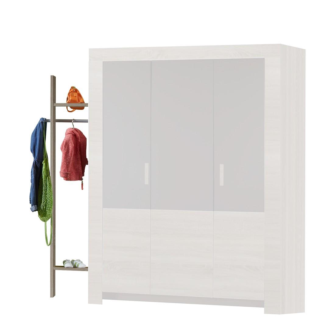 Garderobe Emily – Eiche/Grau, Wimex günstig kaufen