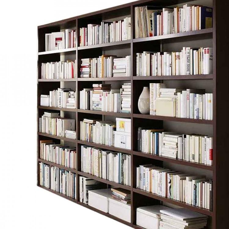 Bibliothek Empire - Wenge Dekor