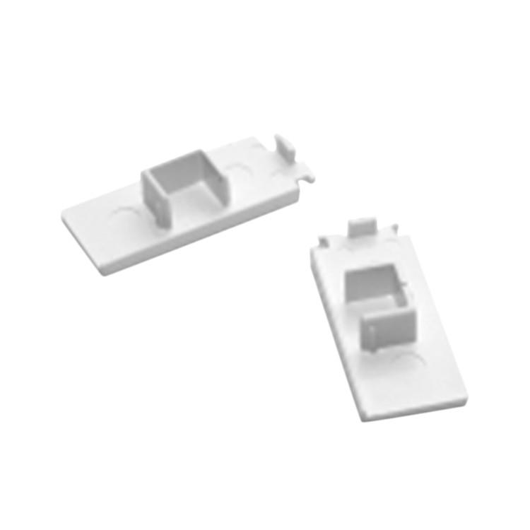 Enddeckel für 1-läufige Gardinenschienen Weiß, Home24Deko kaufen