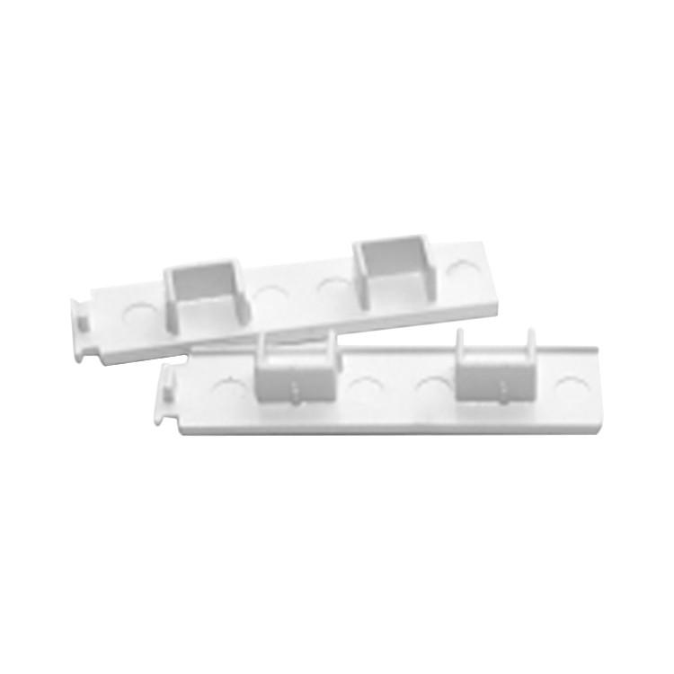 Enddeckel für 2-läufige Gardinenschienen Weiß, Home24Deko jetzt bestellen