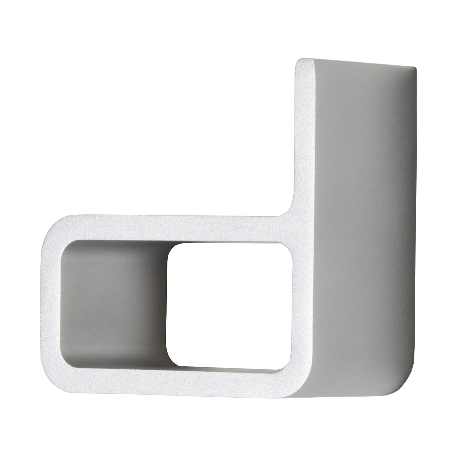 Entrance Hausnummer d - Aluminium silber, Authentics