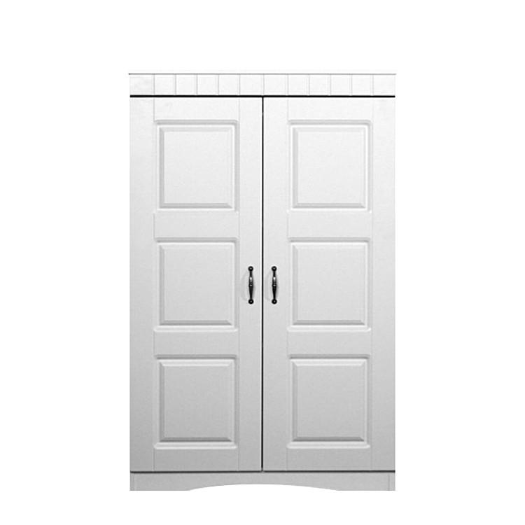Aktenschrank Erika - mit zwei Türen - Perlweiß