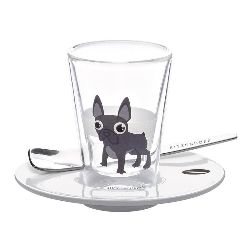 Espressoglas doppelwandig mit Untertasse Bacino – 70 ml – Design Auge – 2011 – 2600001, Ritzenhoff jetzt kaufen