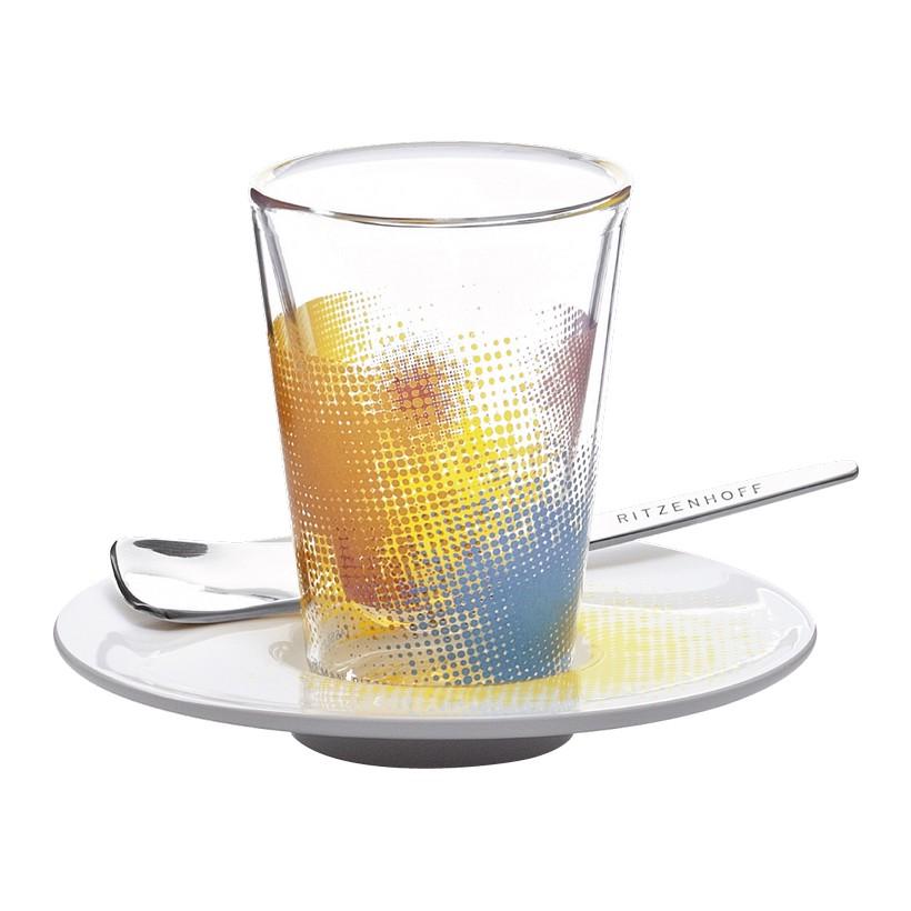 Espressoglas doppelwandig mit Untertasse Bacino – 70 ml – Design Tassilo von Grolman – 2011 – 2600003, Ritzenhoff günstig