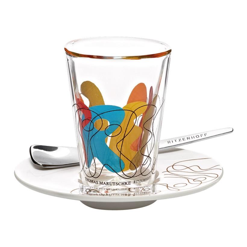 Espressoglas doppelwandig mit Untertasse Bacino – 70 ml – Design Thomas Marutschke – 2012 – 2600013, Ritzenhoff online bestellen